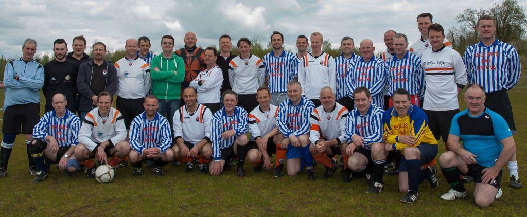 Met het team van McGlinn in Noord-Ierland