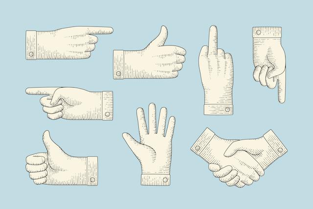 Handen schudden voor dewedstrijd
